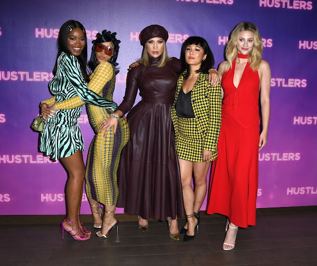 Jennifer Lopez, Cardi B & More Attend 'Hustlers' Photo Call!