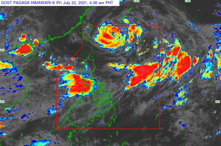 'Bagyong Fabian' PAGASA satellite image July 22 2021