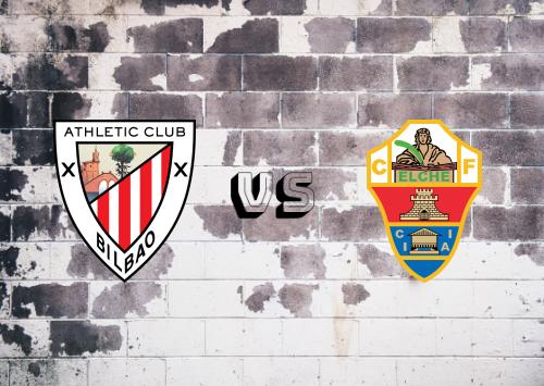 Athletic Club vs Elche  Resumen