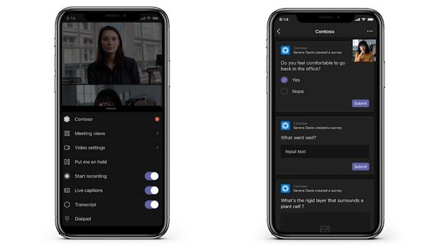 تطبيقات Teams للإجتماعات متاحة الآن على iOS و Android