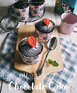 Ide Resep Membuat Kue Super Moist Eggless Chocolate Cake