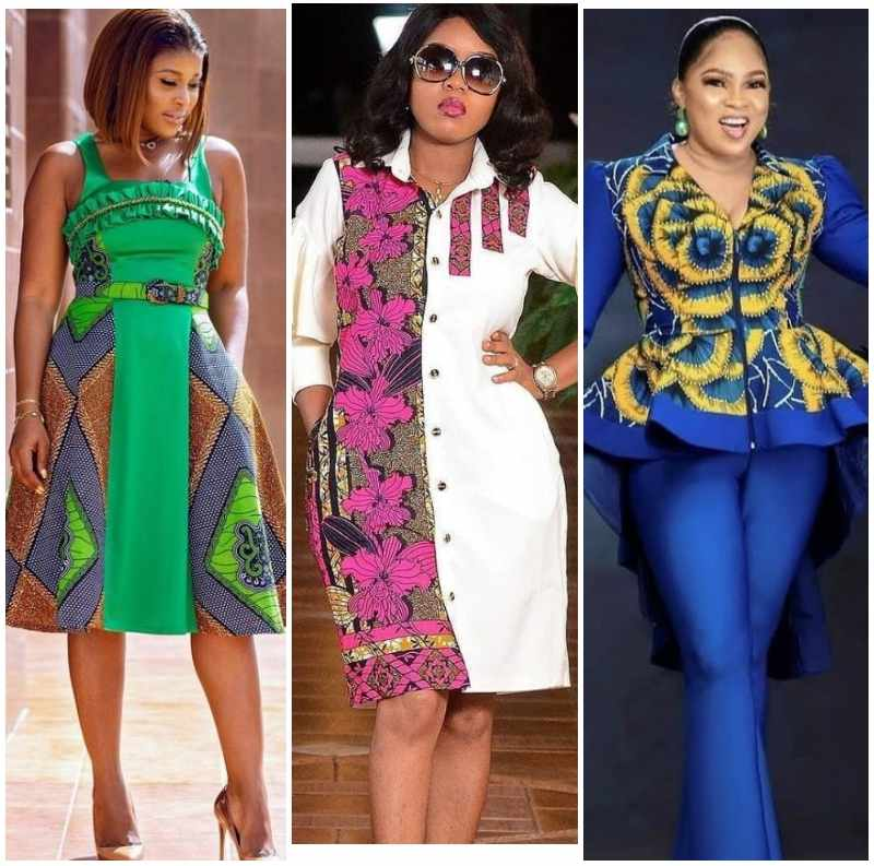 Plain and Pattern Styles for Ladies