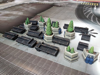 3D printed scenery for Mega-City One
