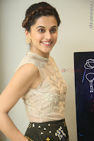 Taapsee Pannu in transparent top at Anando hma theatrical trailer launch ~  Exclusive 032.JPG