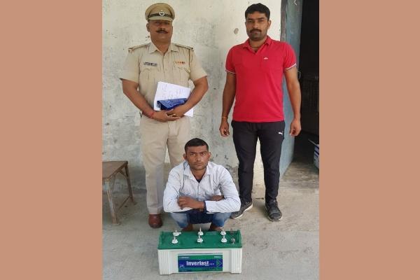 faridabad-crime-branch-sector-85-arrested-chor
