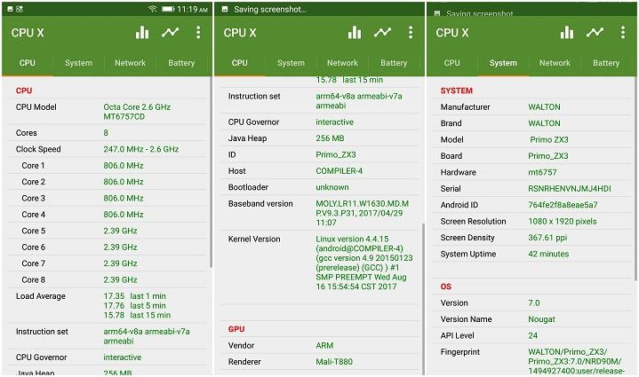 Primo ZX3 CPU GPU হ্যান্ডস-অন রিভিউঃ ডুয়েল রেয়ার ক্যামেরার Walton Primo ZX3