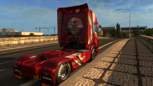 Danish Dream Skin for Scania RJL & RS