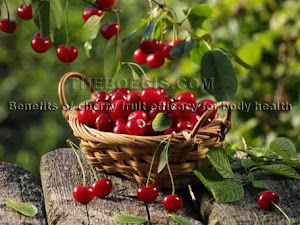 Benefits of cherry fruit efficacy for body health