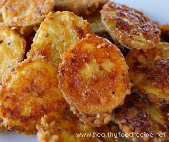 MINI BAKED PARMESAN POTATO ROUNDS RECIPE