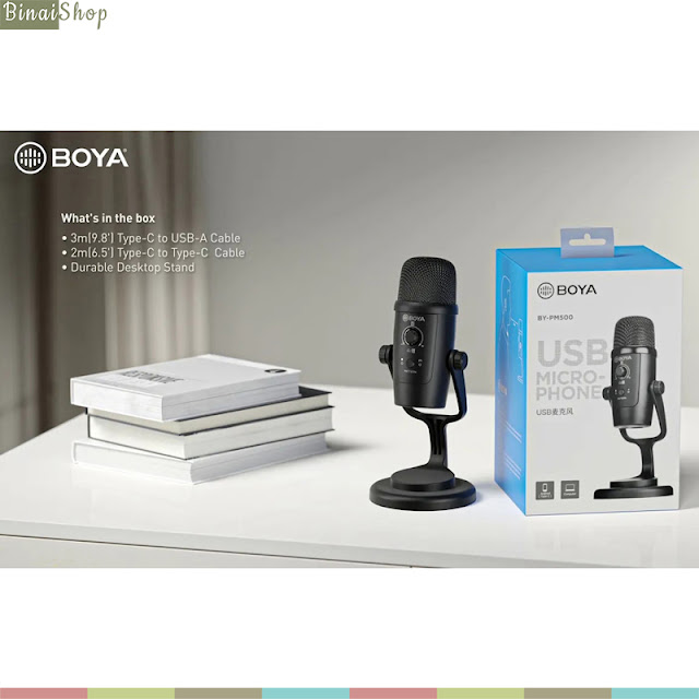 Boya BY-PM500 USB - Micro Condenser