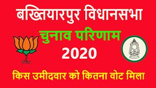 बख्तियारपुर विधानसभा चुनाव परिणाम 2020
