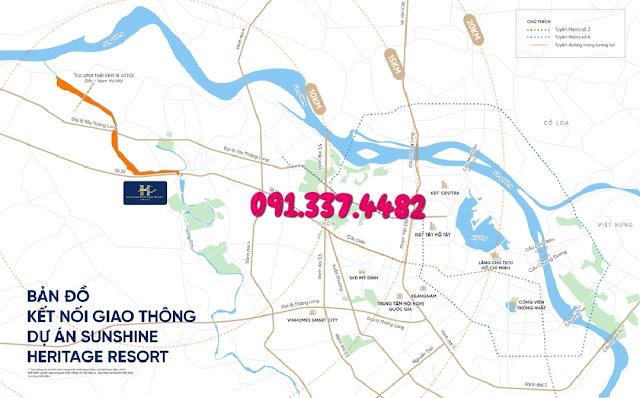 Dự án Sunshine Heritage Resort Sơn Tây Hà Nội - Sunshine Heritage Resort Villas