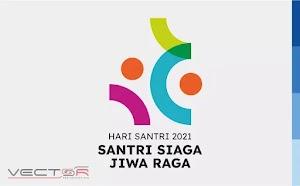 HSN (Hari Santri Nasional) 2021 Kemenag RI Logo (.EPS)