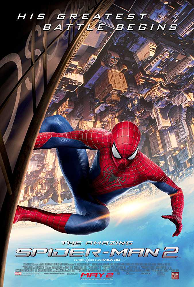 Poster The Amazing Spider-Man 2 2014 Dual Audio HD 720p