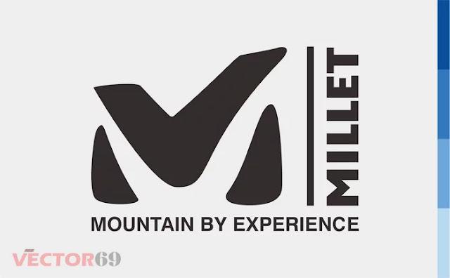Millet Mountain Logo - Download Vector File EPS (Encapsulated PostScript)