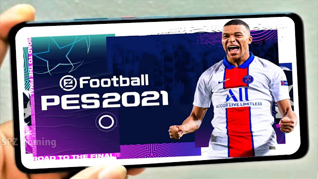 PES 2021 Mobile Best Patch V5.4.0 Android Best Graphics New Menu Original Logos and Kits 21 Update