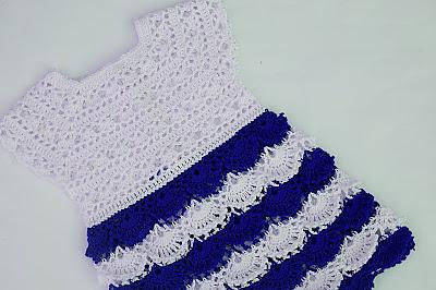 7 - Crochet Imagen Falda para canesú a crochet y ganchillo por Majovel Crochet