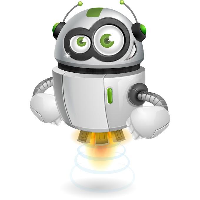 Robot-design free vector by www.vectorkh.com