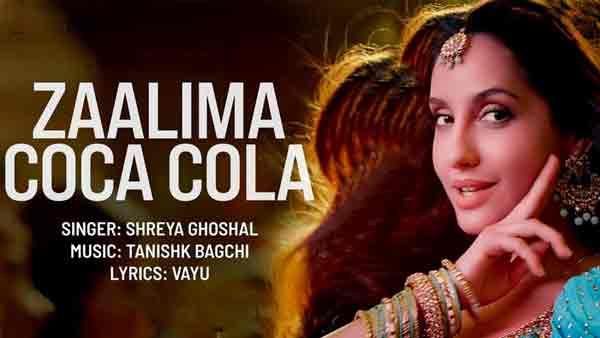 zalima coca cola lyrics by shreya nora