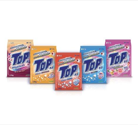 Komitmen TOP untuk Inovasi Teknologi Pencuci Pakaian Berterusan Menghasilkan Detergen yang  Menyingkirkan 99.9% Virus