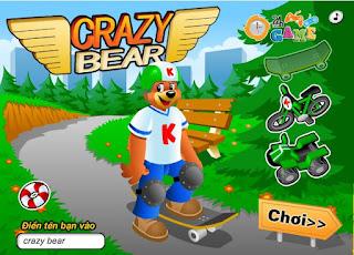 Chơi game gấu con tổ lái hấp dẫn