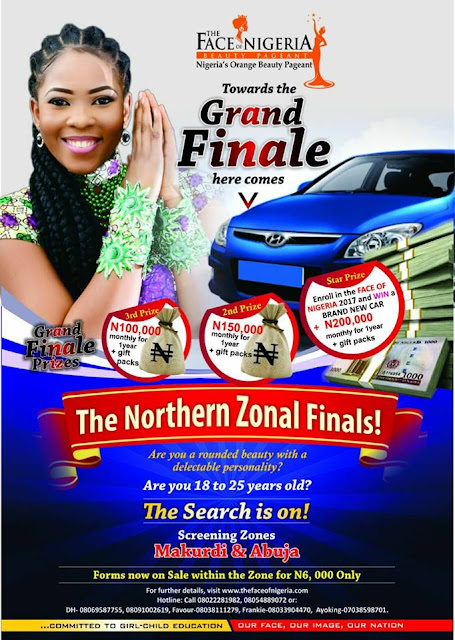 Preparations For The Face of Nigeria Northern Zonal Finals, Begins As Forms are Still on Sale