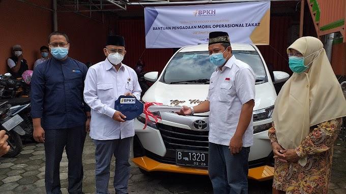 BPKH dan DT Peduli Serahkan Bantuan Mobil Operasional Untuk Laz Zakat Sukses