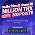 Airdrop of 300 free Points on TronLink