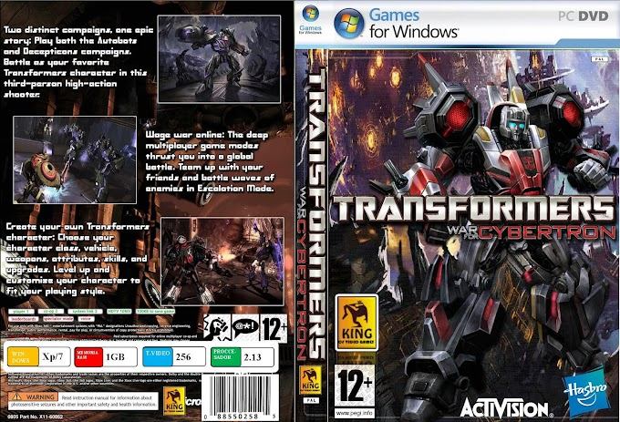 Transformers War For Cybertron Full Version PC Game