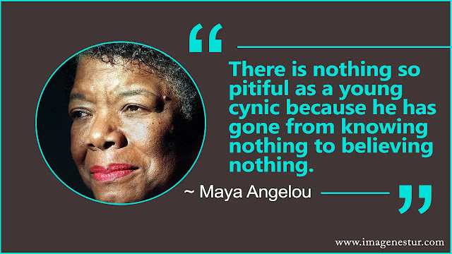 Maya Angelou Quotes about believe