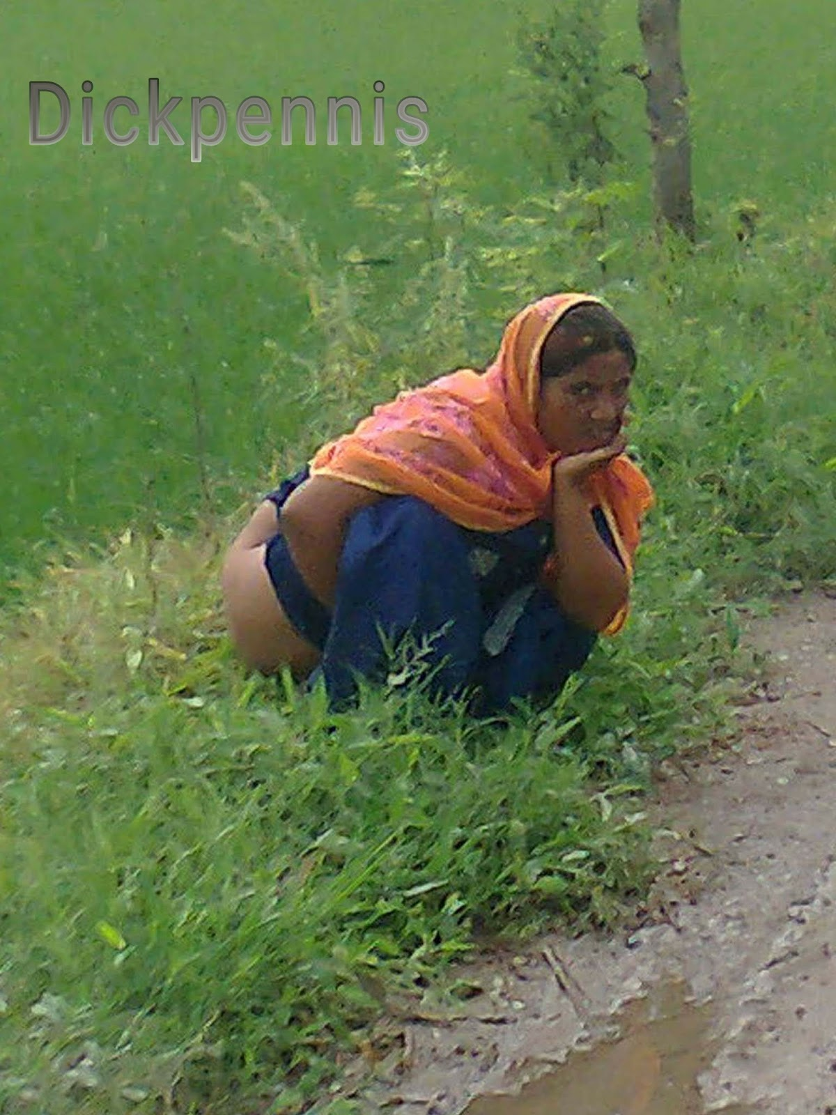 Indian desi girls shitting