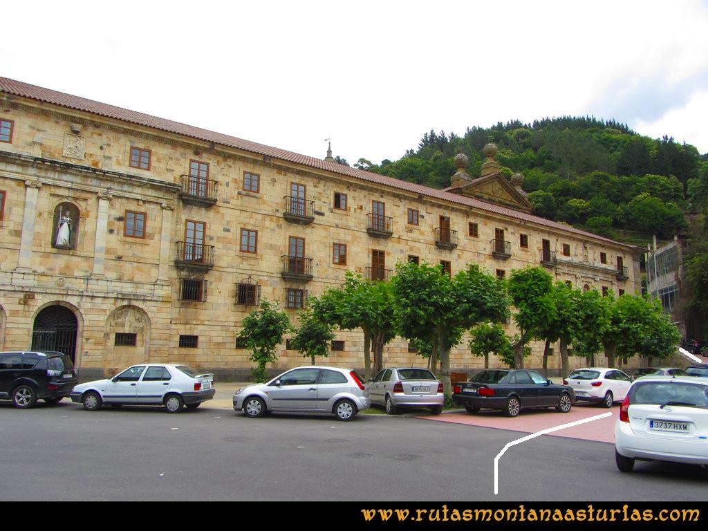 Ruta Cangas - Acebo: Monasterio de Corias