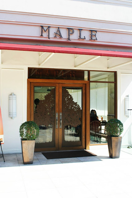 Maple Restaurant San Antonio Plaza Forbes Park Makati City