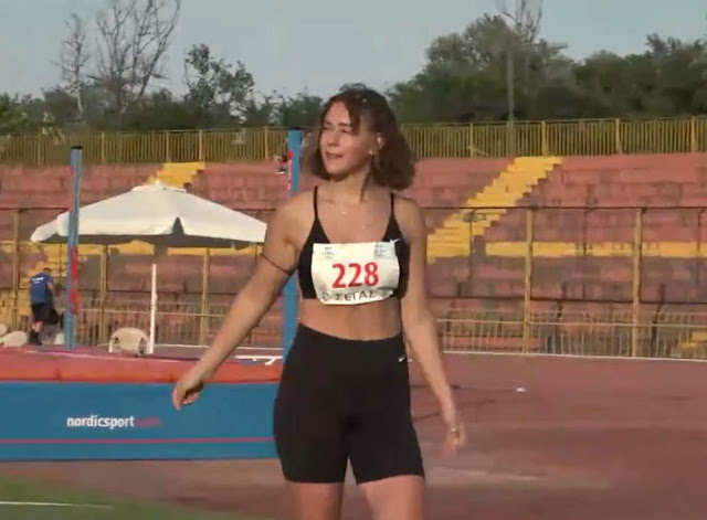 2η Πανελληνιονίκης στον Ακοντισμό η Ελένη Δήμα του Αριστέα Άργους