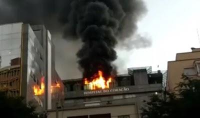 Incêndio no Hospital Badim, possível curto circuito que causou 11 mortes