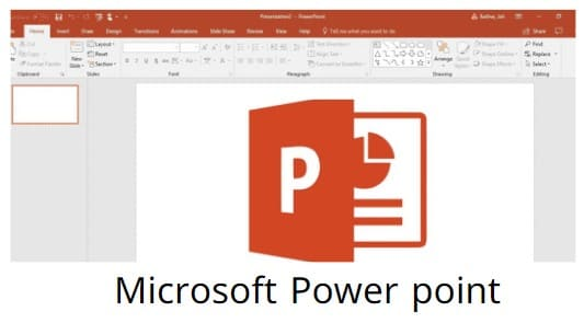 برنامج مايكروسوفت بوربوينت 2020 Microsoft Power point