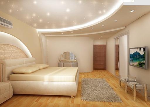 підвісні стелі фото з гіпсокартону