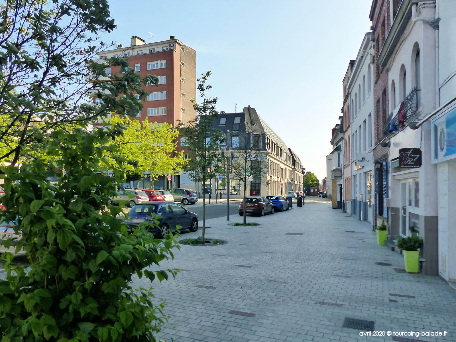 Place Roussel et Rues des Ursulines, Tourcoing 2020