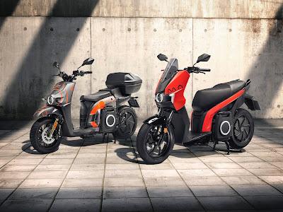 SEAT MÓ despliega su servicio de motosharing en Barcelona.