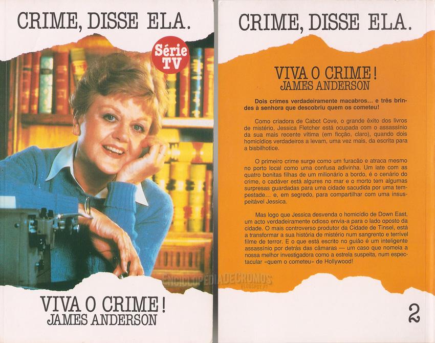 Enciclopdia de cromos crime disse ela 1984 96 escrito por james anderson que adaptava os episdios hooray for homicide e deadly lady os episdios 3 e 2 respectivamente fandeluxe Images