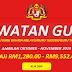 Jawatan Kosong Guru - Ambilan Oktober - November 2019