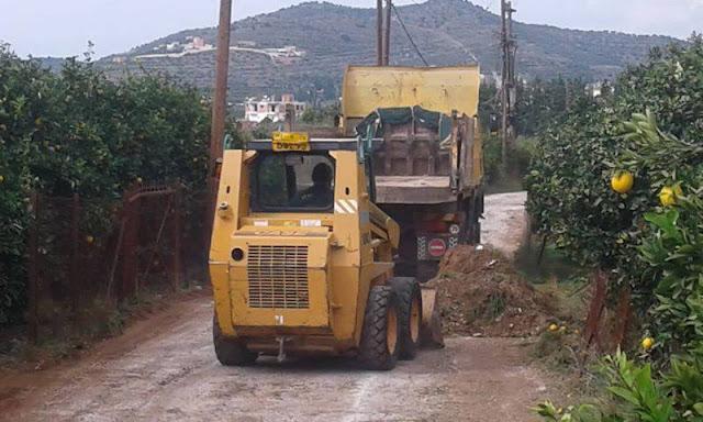 Πέρα από τις γιορτές στον Δήμο Ναυπλιέων υπάρχουν και τα έργα