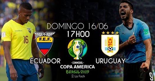 Ecuador vs Uruguay horario