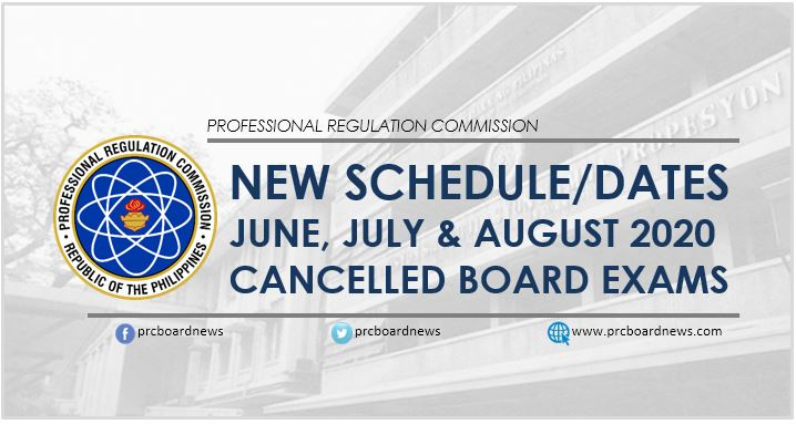 Postponed June, July and August 2020 board exam rescheduled in 2021