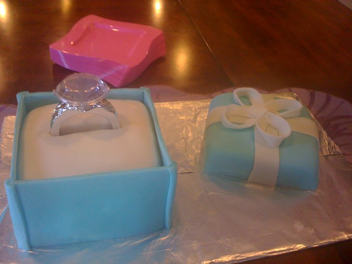 The Ring In This Picture Is Plastic And Purchased On Internet Rest Cake Fondant