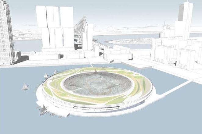 Parque-flotante-Rotterdam