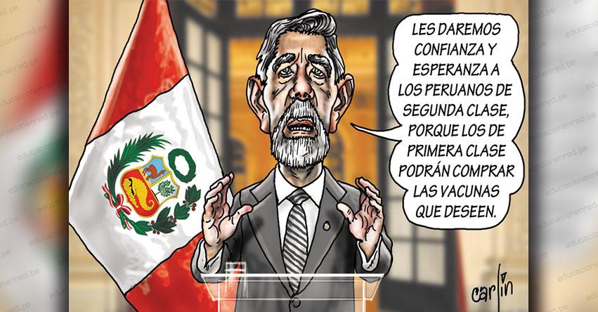 Carlincaturas Miércoles 13 Enero 2021 - La República