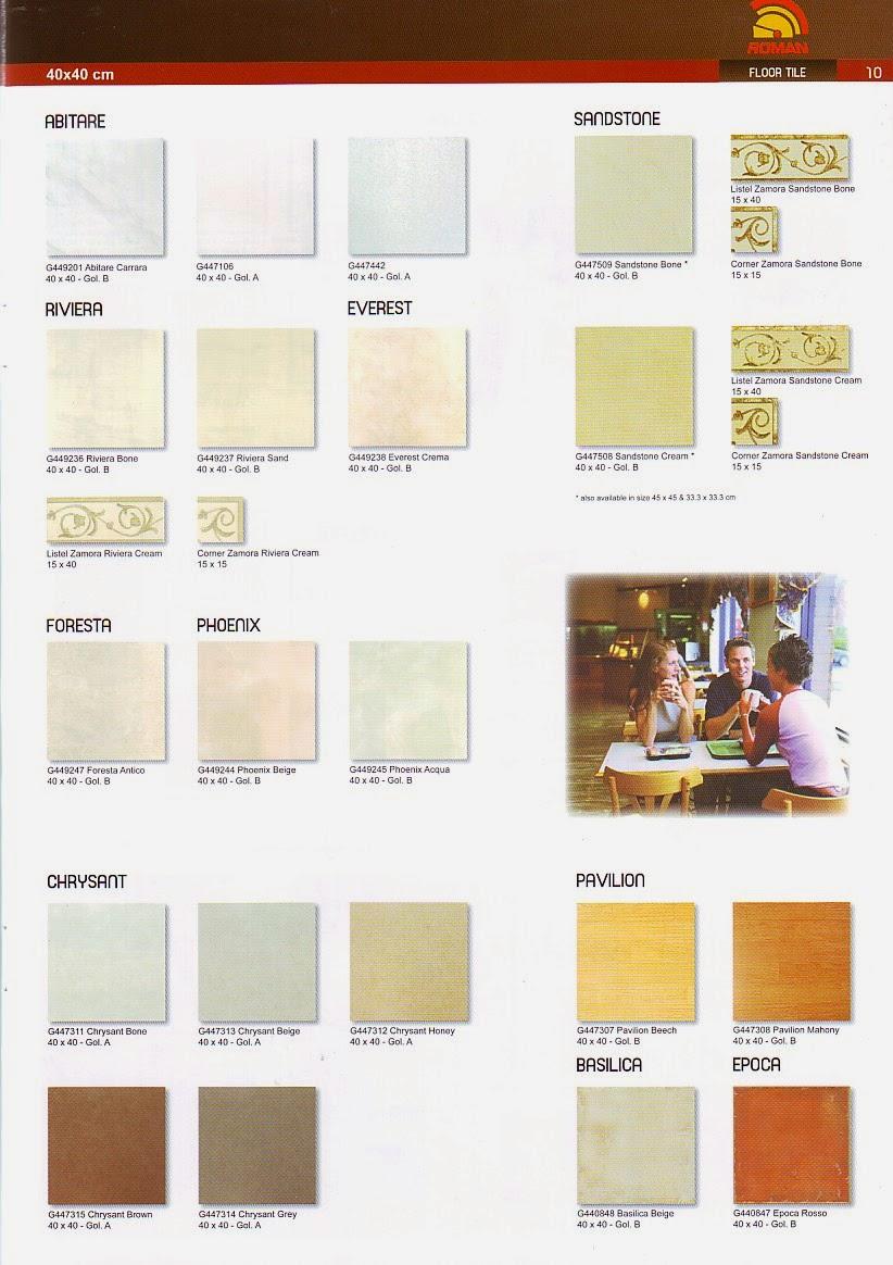 Daftar Harga Keramik Lantai Roman 2020 Daftar Harga
