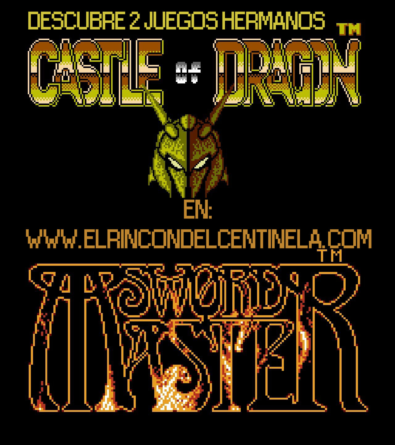 Castle Of Dragon And Sword Master In Nes El Rincon Del Centinela