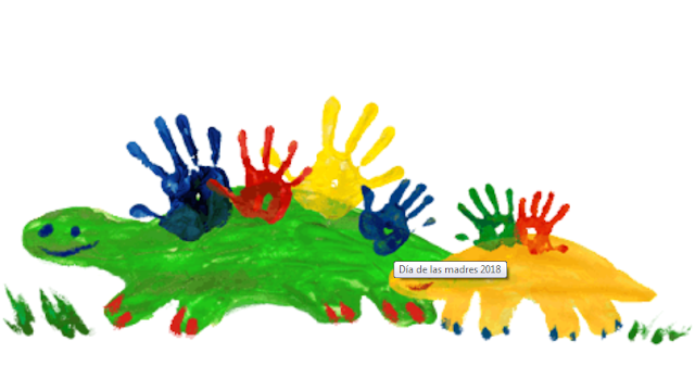 Google celebra a las madres en su día con un doodle